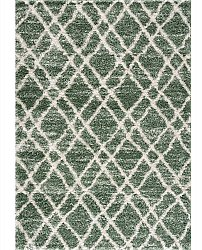 Shaggy rugs - Taroudant (green)