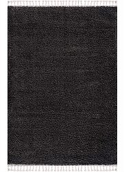 Shaggy rugs - Cudillero (black/anthracite)