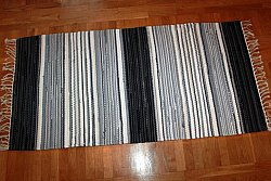 Rag rugs from Strehög of Sweden - Björkö (grey)