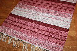 Rag rugs from Strehög of Sweden - Fylke (red)