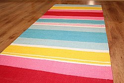 Rag rugs from Strehög of Sweden - Rainbow (multi)