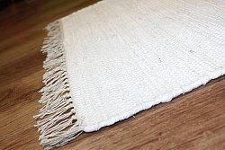Rag rugs - Cotton (white)