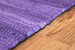 Rag rugs - Cotton (purple)