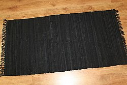 Rag rugs - Cotton (black)