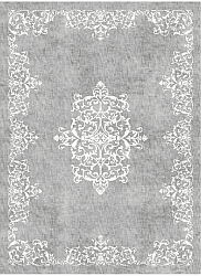 Wilton rug - Santi (grey/white)