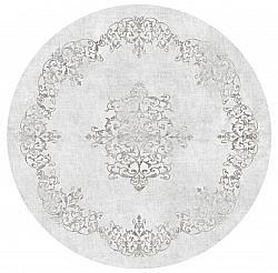 Round rug - Santi (light grey)
