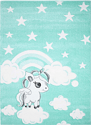 Childrens rugs - Bueno Ponny (turquoise)