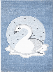 Childrens rugs - Bueno Swan (blue)