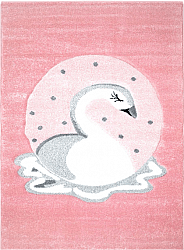 Childrens rugs - Bueno Swan (pink)