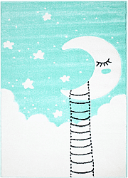 Childrens rugs - Bueno Moon (turquoise)