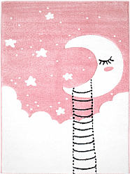 Childrens rugs - Bueno Moon (pink)