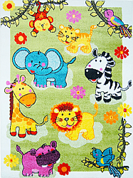 Childrens rugs - Moda Animal Party (multi)
