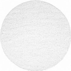 Round rugs - Trim (white)