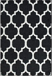 Rug 133 x 190 cm (wilton) - Seattle (black)