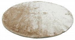Round rugs - Shaggy Luxe (beige)