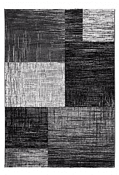 Wilton rug - Kansas Square (black)