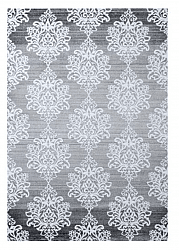 Wilton rug - Tivoli Flower (Grey)