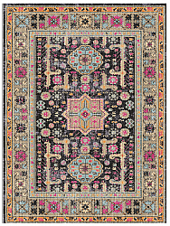 Wilton rug - Patnos (black/multi)