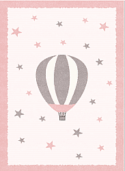Childrens rugs - Alone Balloon (pink)