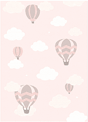 Childrens rugs - Balloons (pink)