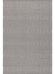 Cotton rug - Kebira (light grey/beige)