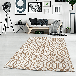 Cotton rug - Kebira (beige)
