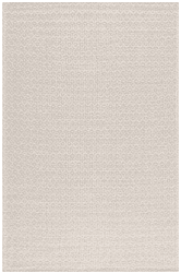 Cotton rug - Saltnes (beige)