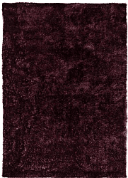 Rug 133 x 190 cm (shaggy rugs) - Cosy (purple/plum)