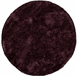 Round rugs - Cosy (purple/plum)