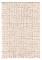 Wool rug - Snowshill (pink/white)