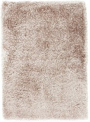 Rug 140 x 200 cm (shaggy rugs) - Soft Deluxe (beige)