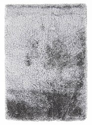 Rug 140 x 200 cm (shaggy rugs) - Soft Deluxe (grey)