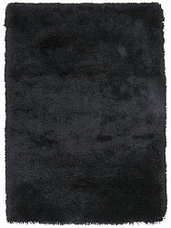 Rug 140 x 200 cm (shaggy rugs) - Soft Deluxe (black)