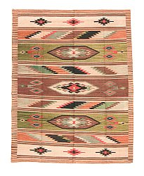 Kilim rug Turkish 195 x 151 cm