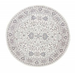 Round rugs - Jacquard woven Ziegler (ivory)