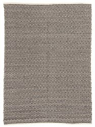 Jute rug - Puebla (black/grey)