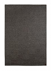 Wool rug - Sumac Check (grey)