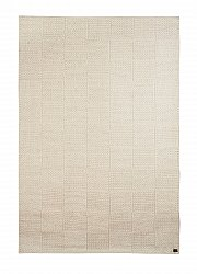 Wool rug - Sumac Check (white)