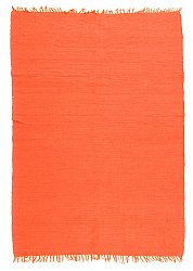 Rug 170 x 240 cm (cotton) - Silje (orange)