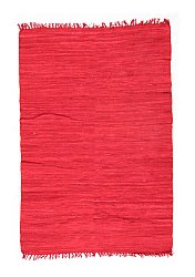 Rug 170 x 240 cm (cotton) - Silje (red)
