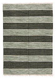 Rug 160 x 230 cm (cotton) - Visby (green)