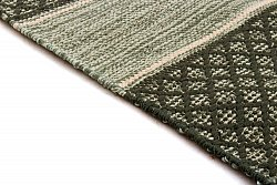 Rag rugs Large - Visby (green) 160 x 230 cm