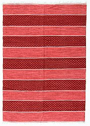 Rug 160 x 230 cm (cotton) - Visby (red)