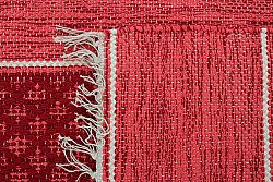 Rag rugs - Visby (red)