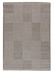 Rug 133 x190 cm (wilton) - Taverna Patch (grey)