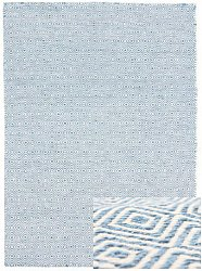Wool rug - Athens (blue)