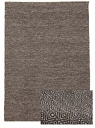 Wool rug - Athens (black)