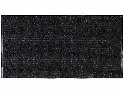 Kitchen rug (plastic/cotton) - The Horredmatta Uni Mix (black)