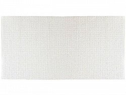 Kitchen rug (plastic/cotton) - The Horredmatta Uni Mix (white)