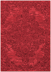 Wilton rug - Valenza (red)